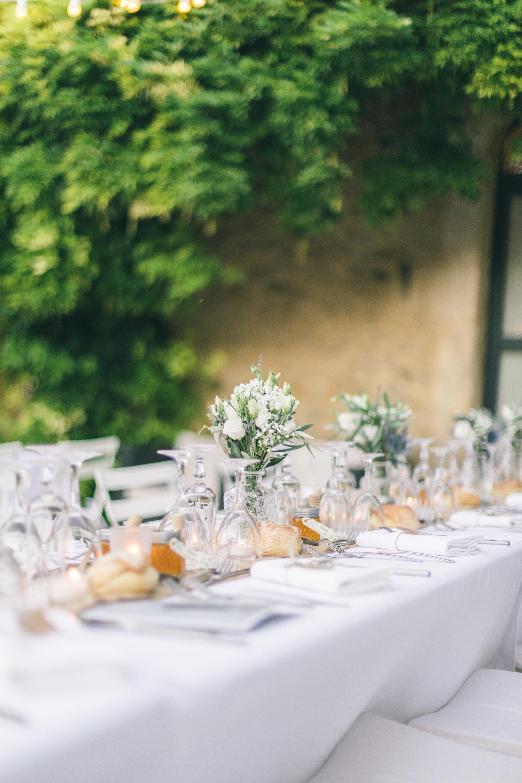 le coeur dans les etoiles - wedding planner - gard - provence - mariage provence - L&C - sebastien cabanes - deco table