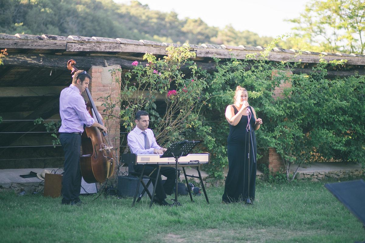 le coeur dans les etoiles - wedding planner - gard - provence - mariage provence - L&C - sebastien cabanes - groupe jazz