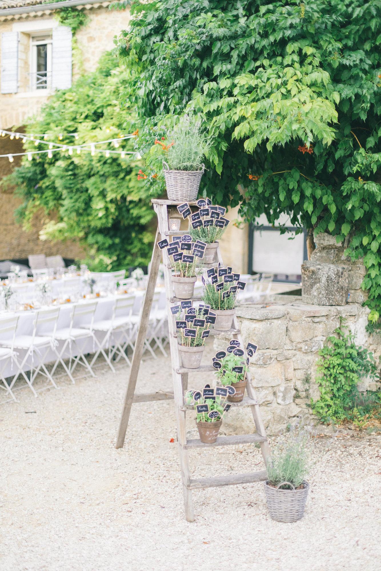 le coeur dans les etoiles - wedding planner - gard - provence - mariage provence - L&C - sebastien cabanes - plan de table
