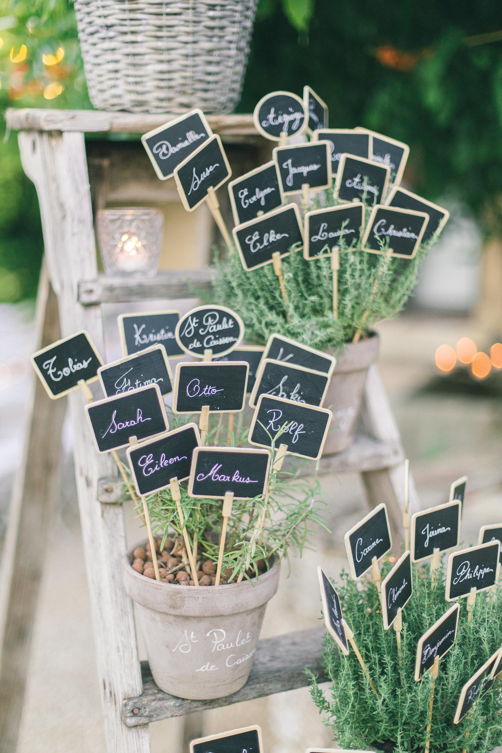 le coeur dans les etoiles - wedding planner - gard - provence - mariage provence - L&C - sebastien cabanes - plantes aromatiques