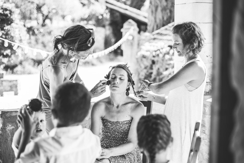 le coeur dans les etoiles - wedding planner - gard - provence - mariage provence - L&C - sebastien cabanes - preparatifs mariee