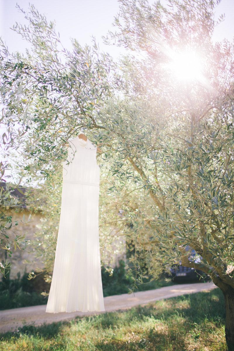 le coeur dans les etoiles - wedding planner - gard - provence - mariage provence - L&C - sebastien cabanes - robe mariee