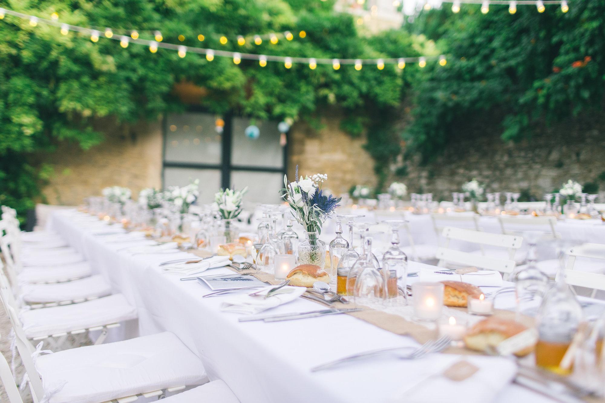 le coeur dans les etoiles - wedding planner - gard - provence - mariage provence - L&C - sebastien cabanes - vue ensemble