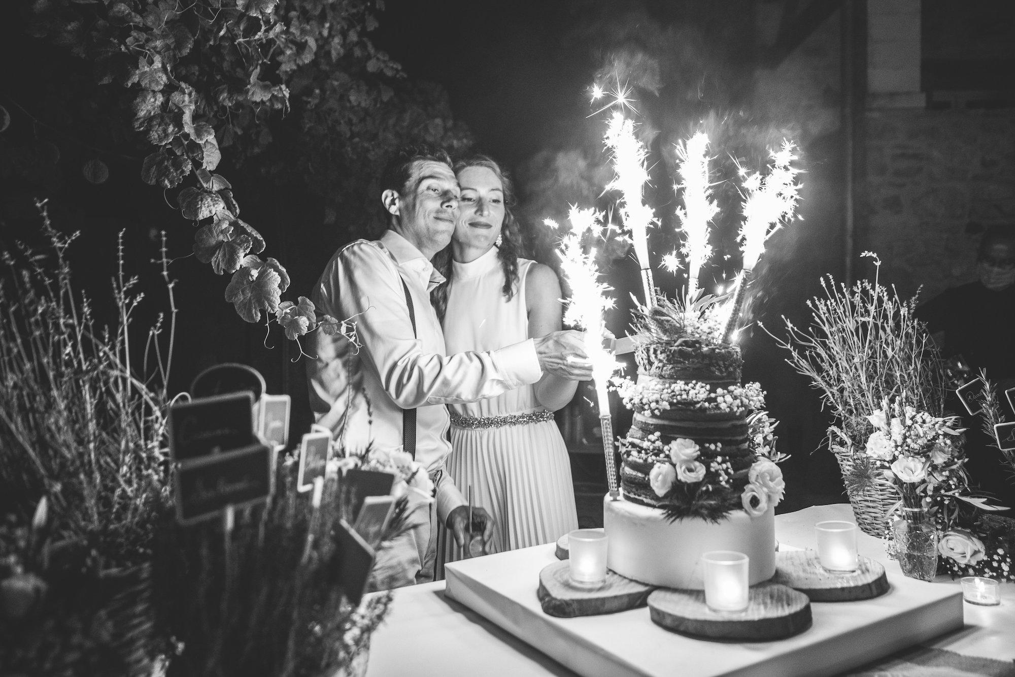 le coeur dans les etoiles - wedding planner - gard - provence - mariage provence - L&C - sebastien cabanes - wedding cake