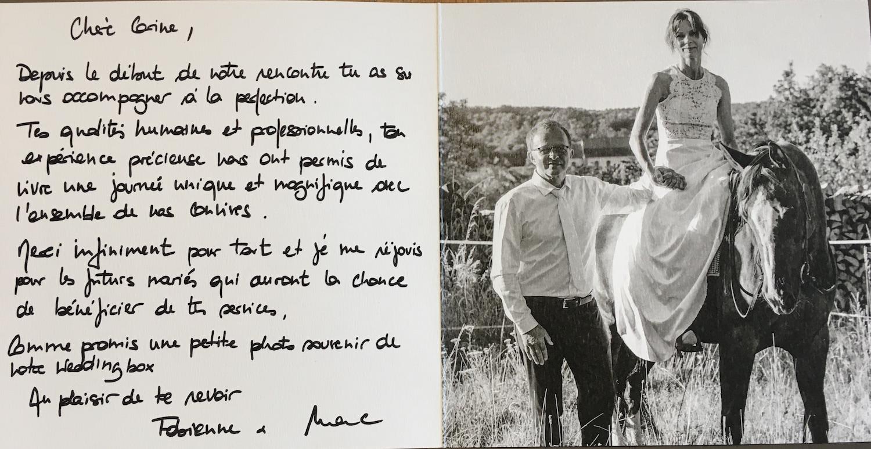 Témoignage mariés - mariage Provence
