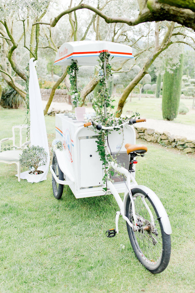 Food truck glaces pour mariage