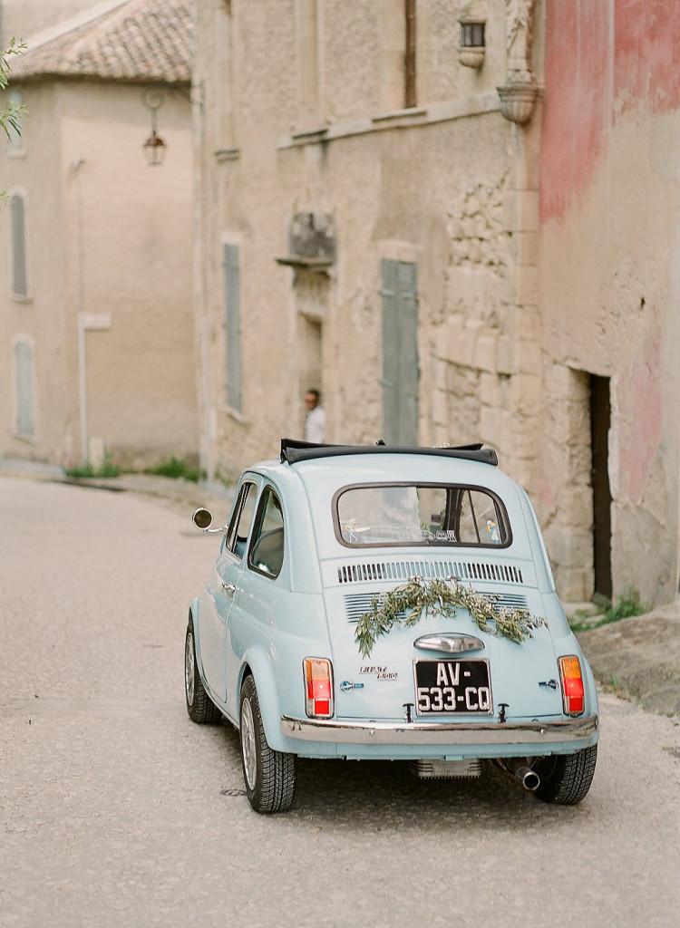 Fiat 500 pour mariage Dolce Vita