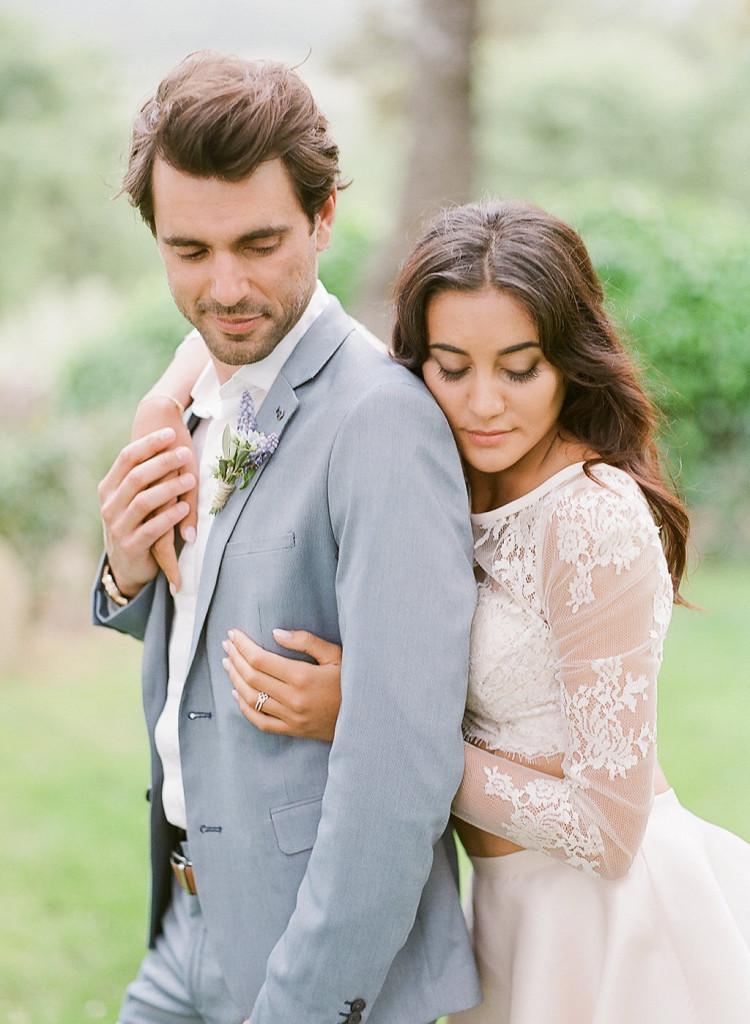 Photo de couple mariage dolce vita