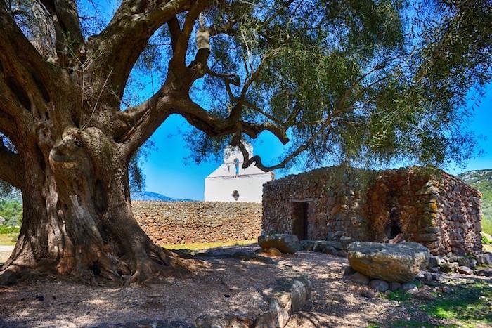 église typique sarde
