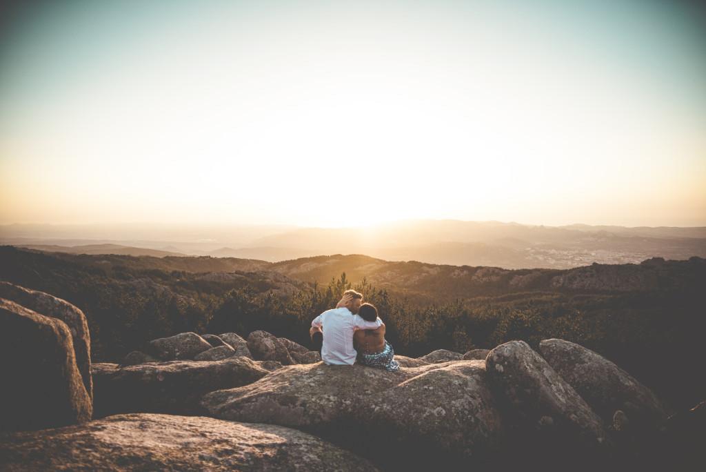 Coucher de soleil mariage en Sardaigne