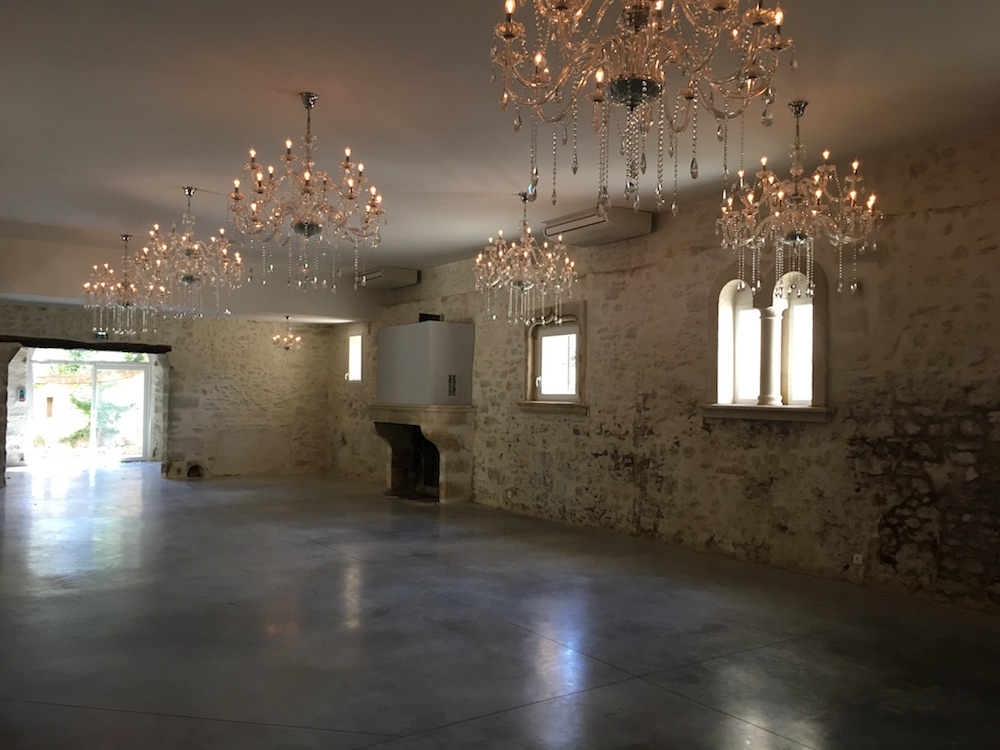 Salle mariage Provence