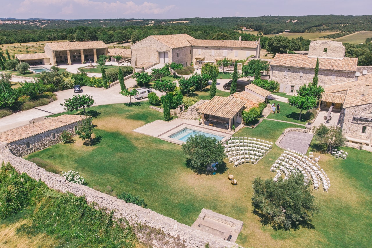 Domaines de mariage en Provence