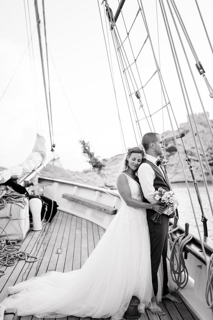 Mariage en mer