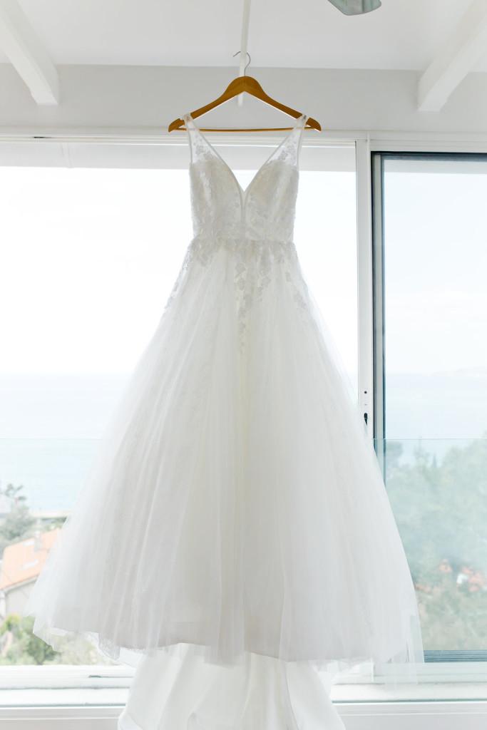La sublime robe de mariée