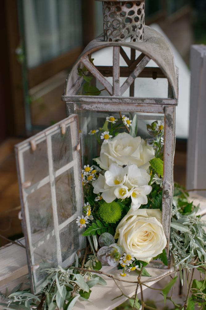 Décoration de mariage lanternes