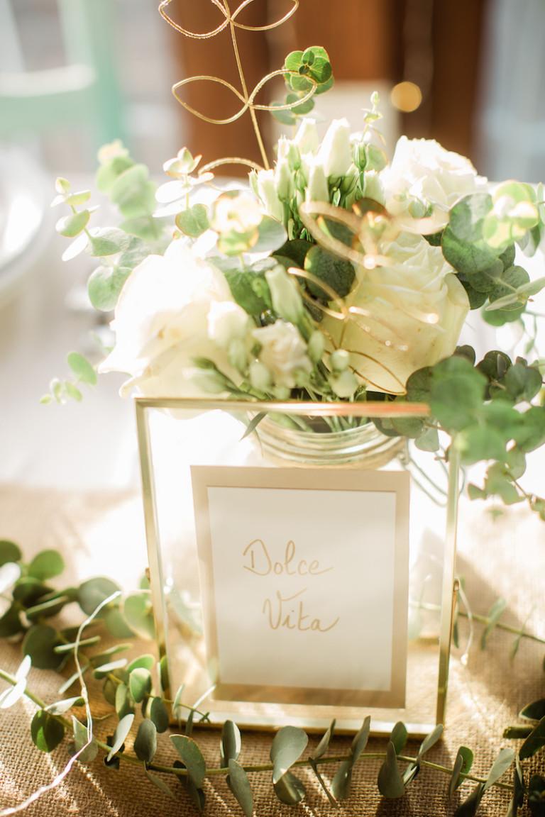 Décoration mariage sobre et élégant