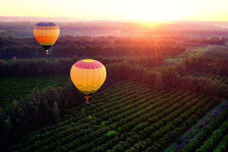Vol en montgolfière EVJF