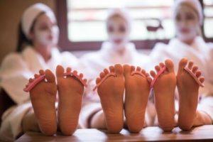 Enterrement de vie de célibataire dans un spa