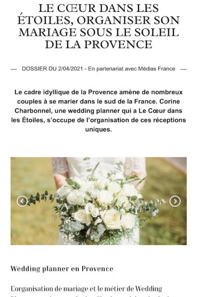 Article Marie Claire Magazine