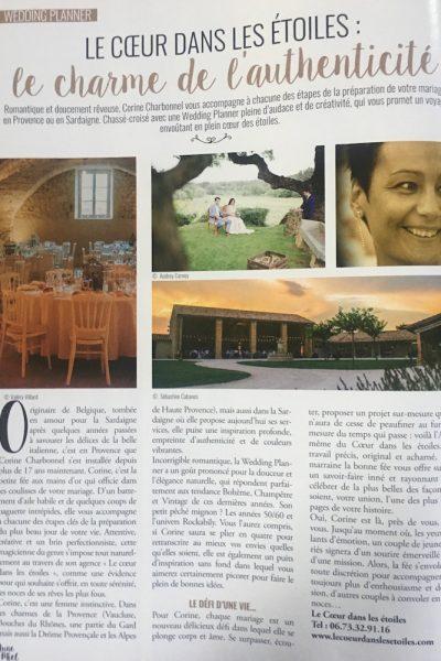 Publication Lune de Miel Magazine